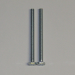 2x M4 50mm Hex Head Bolts